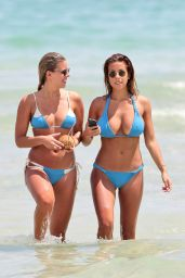 Devin Brugman & Natasha Oakley Wearing a Bikini in Miami, September 2015