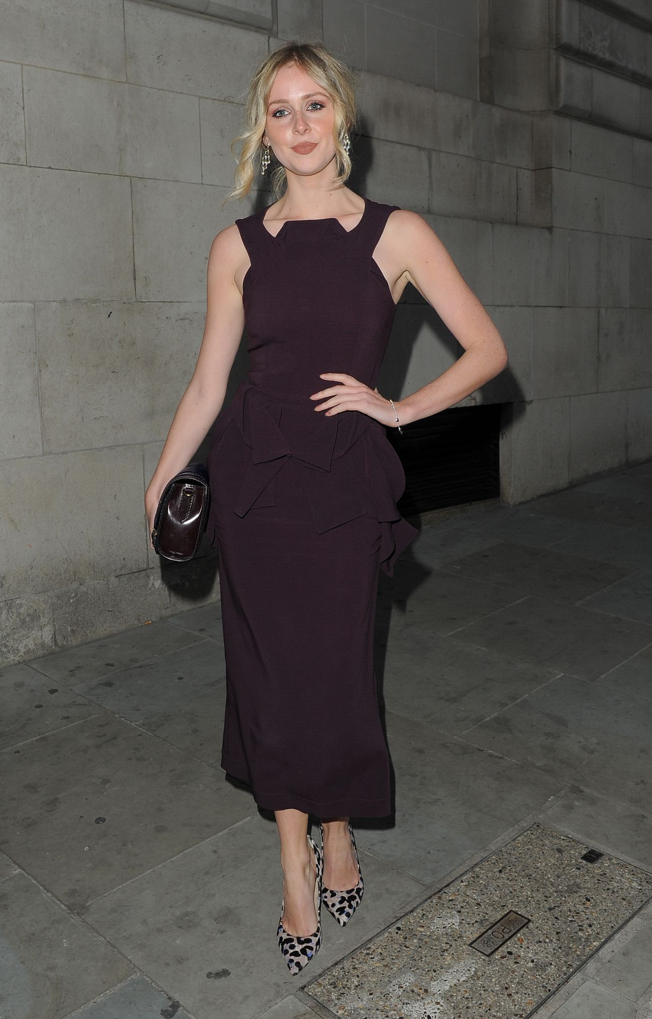 949267d453 Diana Vickers Night Out Style – Amanda Wakeley 25th Anniversary Party in  London