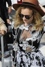 Diane Kruger Arrives at the Lido for the 72nd Venice Film Festival