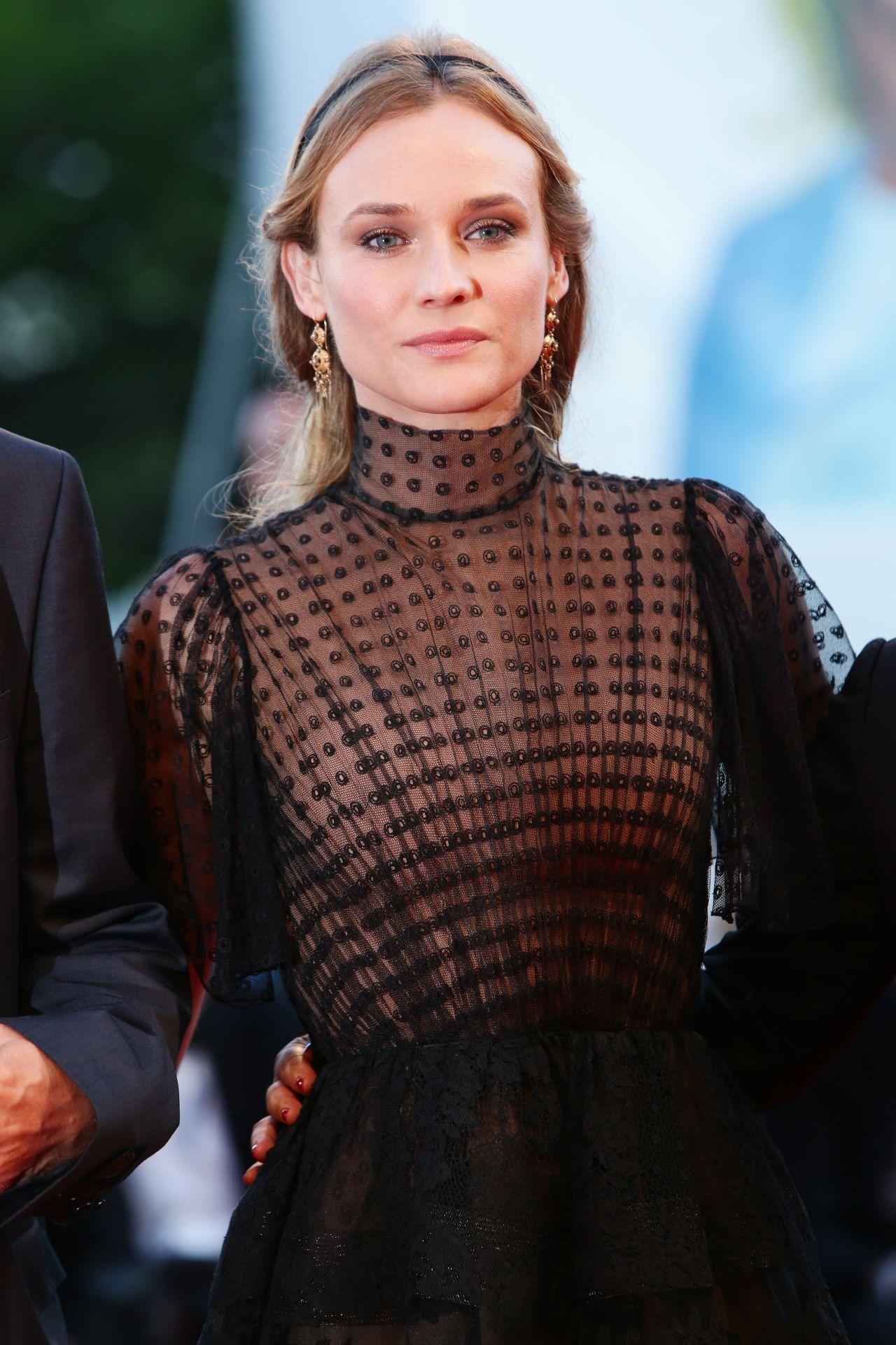Diane Kruger Lao Pao Er Premiere 72nd Venice Film
