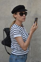 Diane Kruger Out In Venice in Italy, September 2015