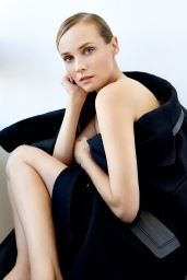 Diane Kruger Photoshoot for Marie Claire Magazine October 2015