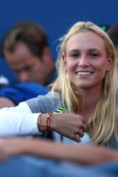 Donna Vekic During Stan Wawrinka