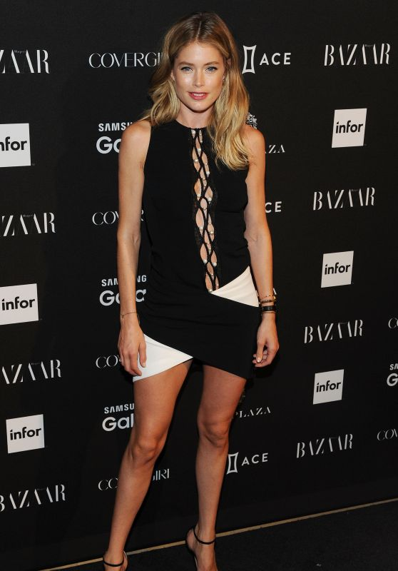 Doutzen Kroes – 2015 Harper's BAZAAR ICONS Event in New York City