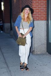 Doutzen Kroes Casual Style - Out in NYC, September 2015