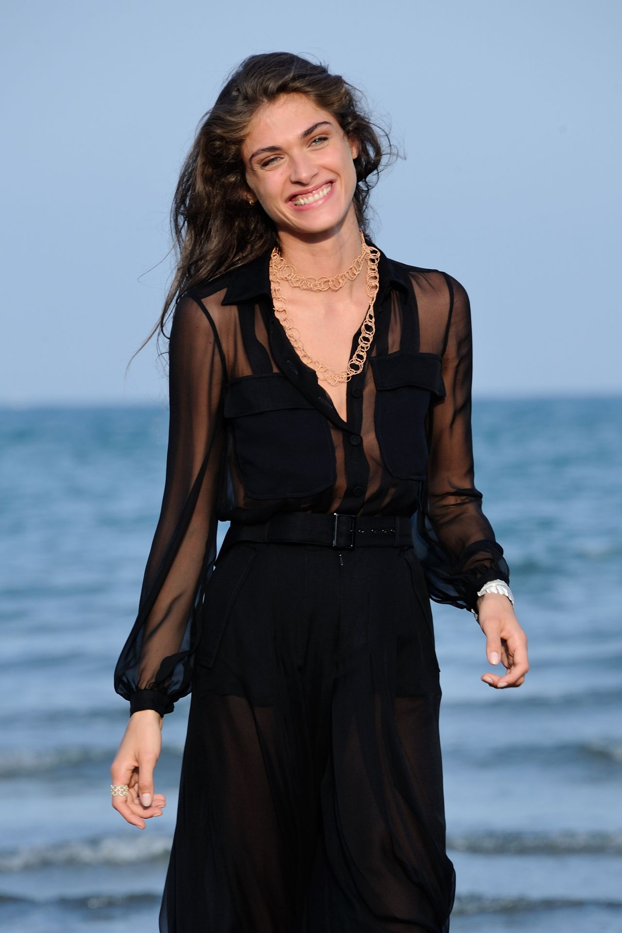 Elisa Sednaoui Photocall During The 72nd Venice Film