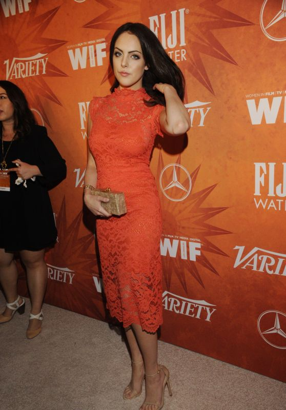 Elizabeth Gillies - 2015 Variety And Women In Film Pre-Emmy Celebration in West Hollywood