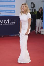 Elizabeth Olsen on Red Carpet - 41st Deauville Film Festival