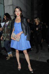 Ella Catliff - Versus Show - London Fashion Week, September 2015