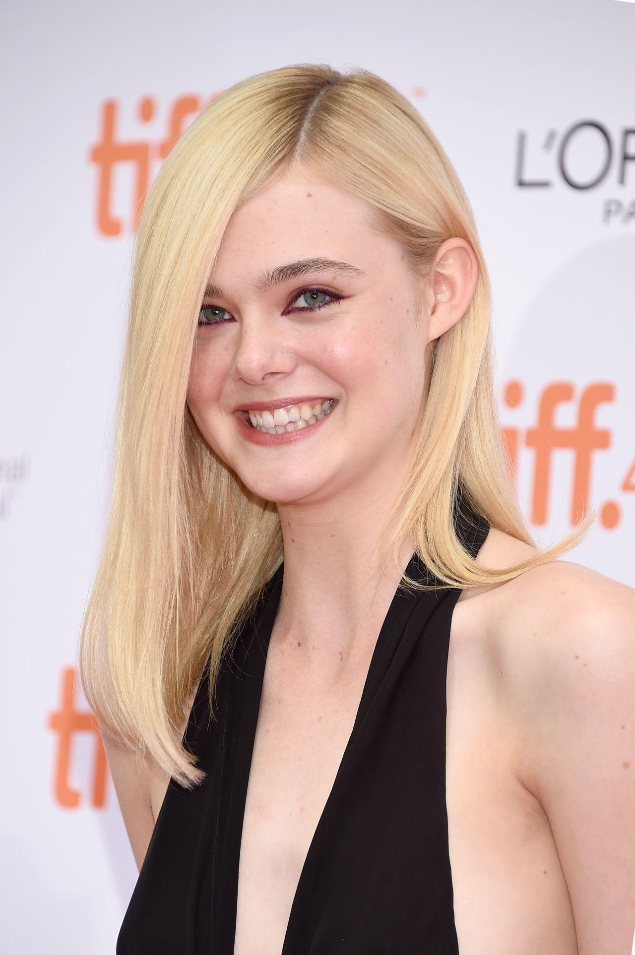 Elle Fanning - About Ray Premiere 2015 TIFF • CelebMafia