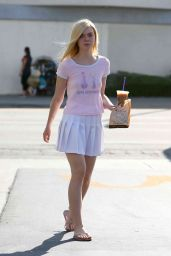 Elle Fanning - Out in Los Angeles, September 2015