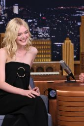 Elle Fanning - The Tonight Show Starring Jimmy Fallon in NYC, September 2015