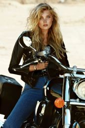 Elsa Hosk - Photoshoot For Elle Magazine Sweden October 2015