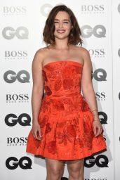 Emilia Clarke - 2015 GQ Men Of The Year Awards in London