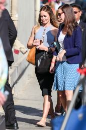 Emily Blunt at Jimmy Kimmel Live in Hollywood, September 2015