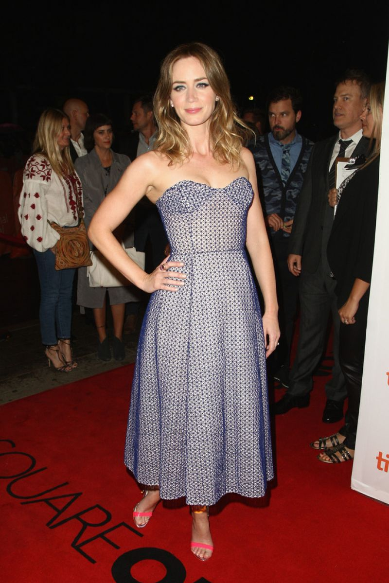 Emily Blunt - 'Sicario' Premiere - 2015 Toronto ... Emily Blunt