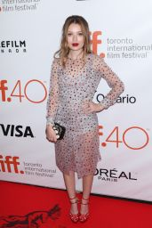 Emily Browning - Legend Premiere at Toronto International Film Festival