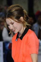 Emily Browning - Legend Premiere in London