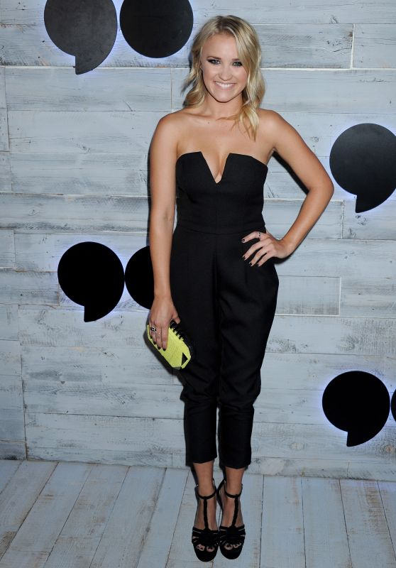 Emily Osment – VIP Sneak Peek Of go90 Social Entertainment Platform in Los Angeles