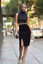 Emily Ratajkowski - Out in New York City, September 2015
