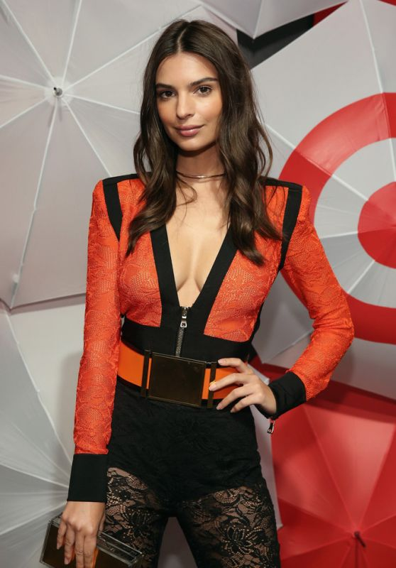 Emily Ratajkowski - TargetStyle, in Vogue at Cedar Lake in New York City