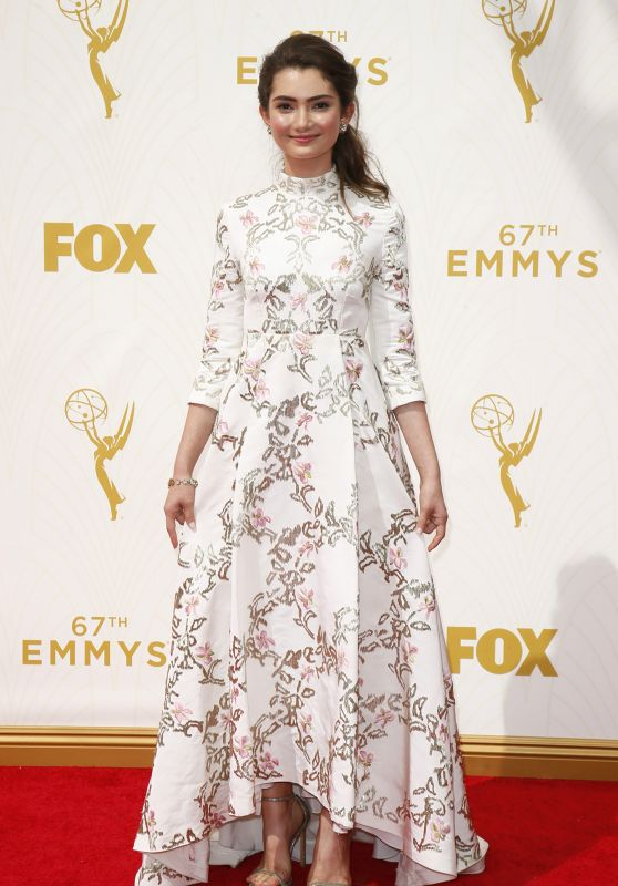 Emily Robinson – 2015 Primetime Emmy Awards in Los Angeles