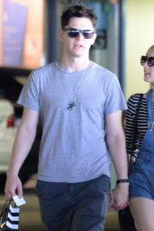 Emma Roberts Leaving Sephora in Los Angeles, September 2015