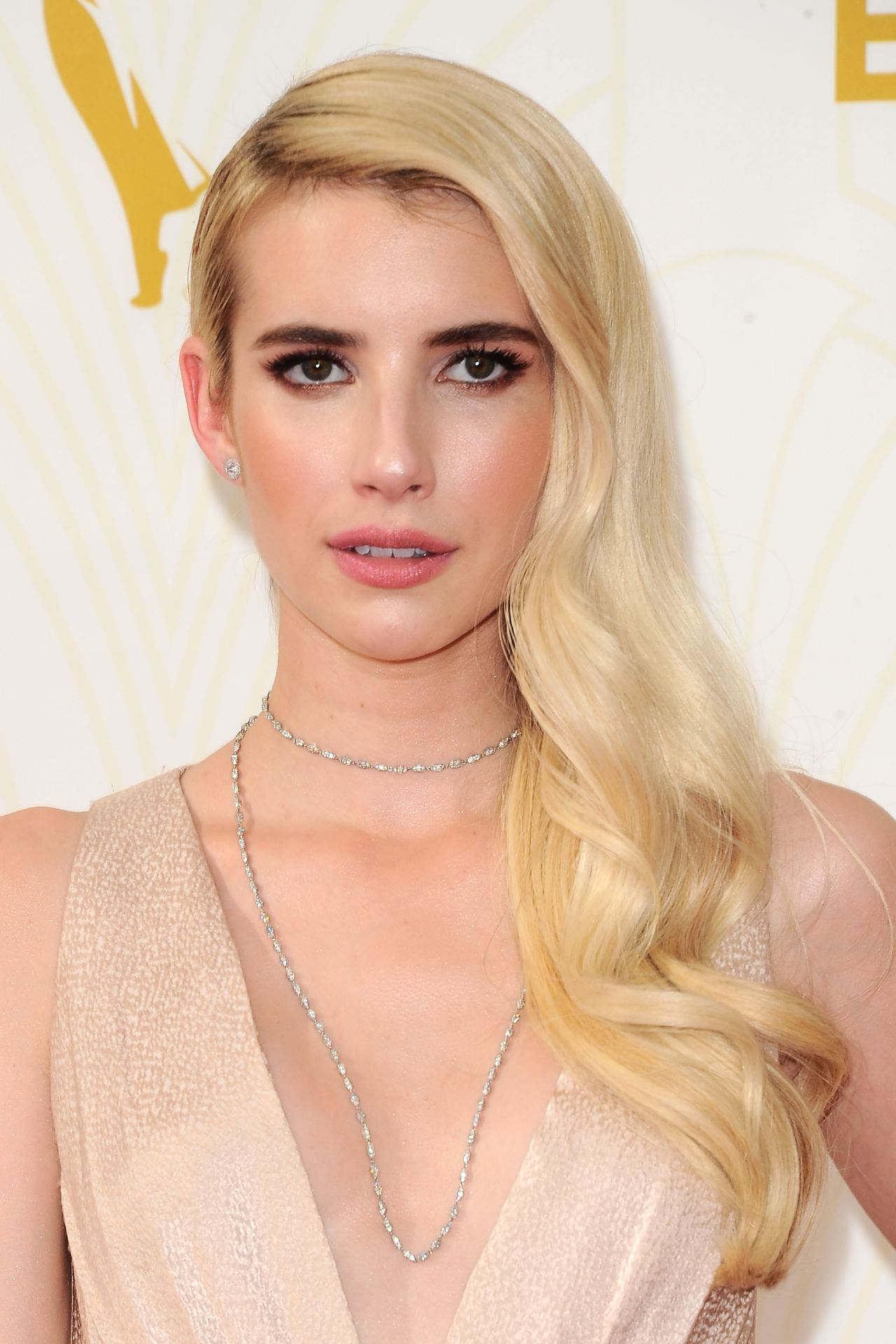 Emma Roberts on Red Carpet – 2015 Primetime Emmy Awards in Los Angeles ...