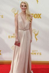 Emma Roberts on Red Carpet – 2015 Primetime Emmy Awards in Los Angeles