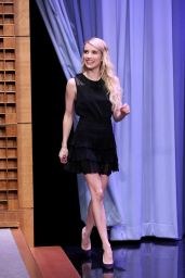 Emma Roberts - The Tonight Show Starring Jimmy Fallon, September 2015