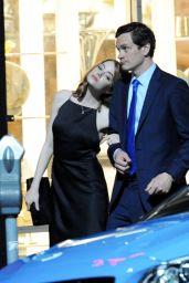 Emma Stone - On the Set of La La Land in Hollywood, September 2015