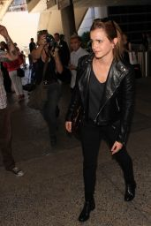 Emma Watson Airport Style - at LAX Airport, September 2015