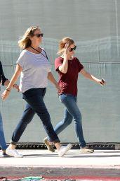 Emma Watson - On the Set of