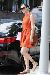 Emmy Rossum Fashion - Out Beverly Hills, September 2015