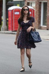 Emmy Rossum Street Fashion - Out in West Hollywood, September 2015