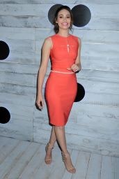 Emmy Rossum – VIP Sneak Peek Of go90 Social Entertainment Platform in Los Angeles