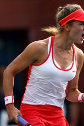 Eugenie Bouchard - 2015 US Open in NYC - 1st Round