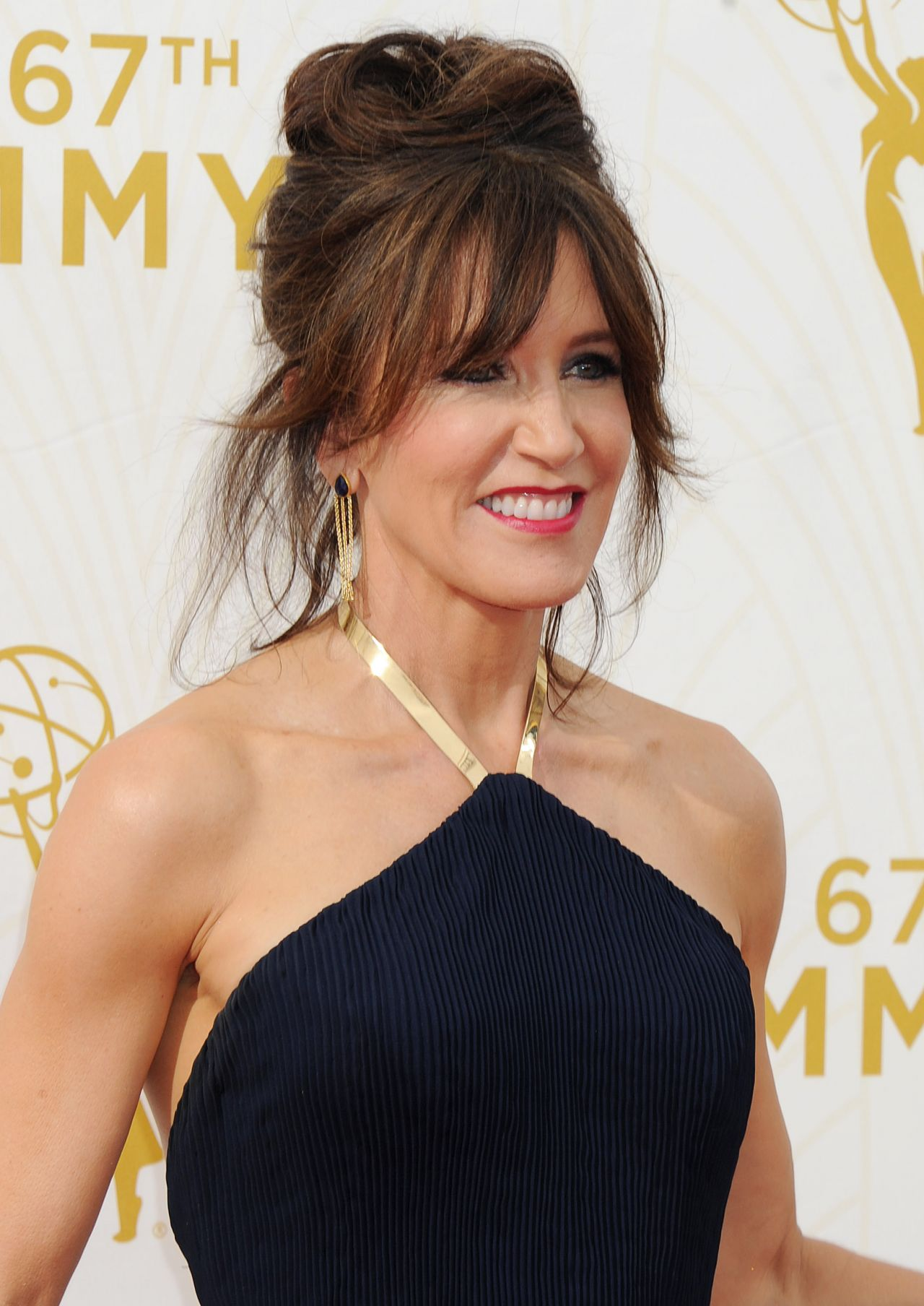 Felicity Huffman 2015 Primetime Emmy Awards In Los Angeles