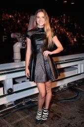 Fiammetta Cicogna in Mini Dress - Philipp Plein Show – Milano Fashion Week, September 2015