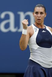 Flavia Pennetta – 2015 US Open in New York – 4th Round