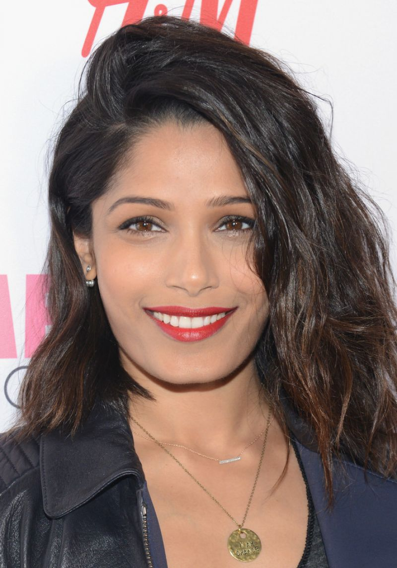 Freida Pinto - 2015 Global Citizen Festival in New York City Freida Pinto