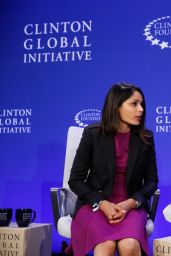 Freida Pinto - Clinton Global Initiative 2015 Annual Meeting; Day 4