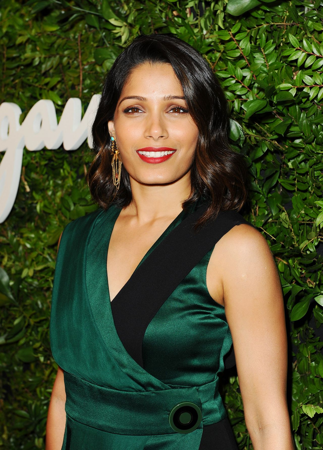 Freida Pinto - Salvatore Ferragamo 100th Year Celebration ... Freida Pinto