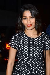 Freida Pinto - The A List 15th Anniversary Party in Beverly Hills
