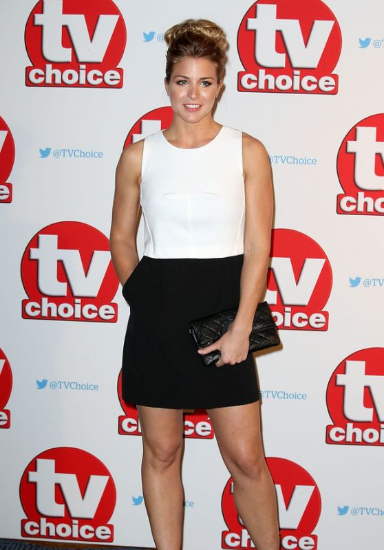 Gemma Atkinson - TV Choice Awards 2015 in London