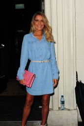 Gemma Oaten - Jeans for Genes Day 2015 Launch Party in London