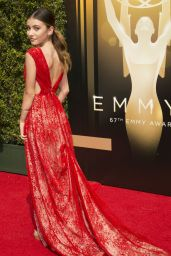 Genevieve Hannelius - 2015 Creative Arts Emmy Awards in Los Angeles