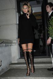 Gigi Hadid Night Out Style - New York City, September 2015