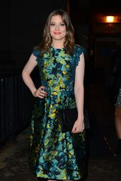 Gillian Jacobs - Monique Lhuillier New York Fashion Week Show, September 2015