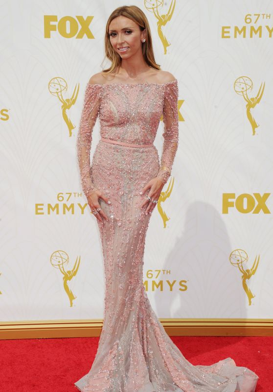 Giuliana Rancic – 2015 Primetime Emmy Awards in Los Angeles